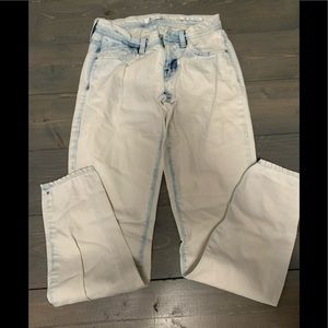 Acid washed Guess Jeans